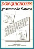 """Cover """"Don Quichottes gesammelte Satiren"""""""