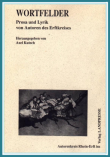"""Cover """"Wortfelder"""""""